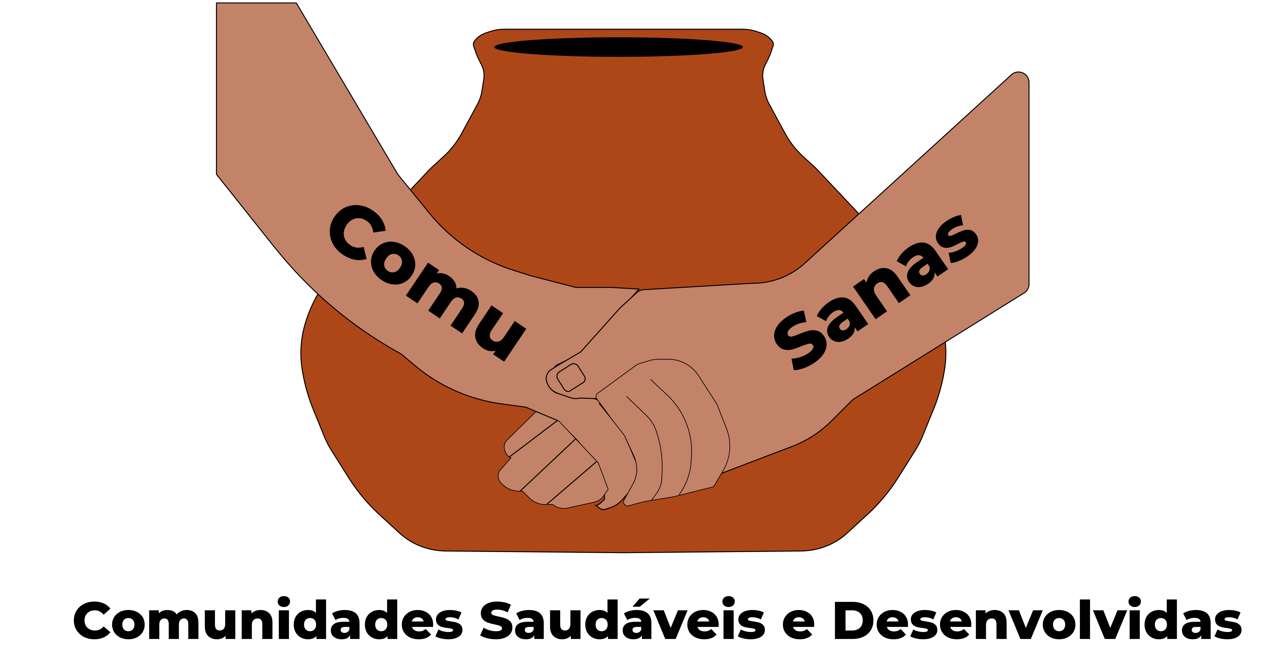 Logo ComuSanas - Final HAND DESIGN